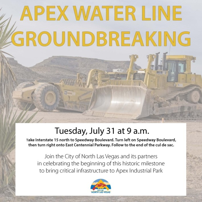 Apex Waterline Started! Apex Industrial Rail - Lot 4 - APN